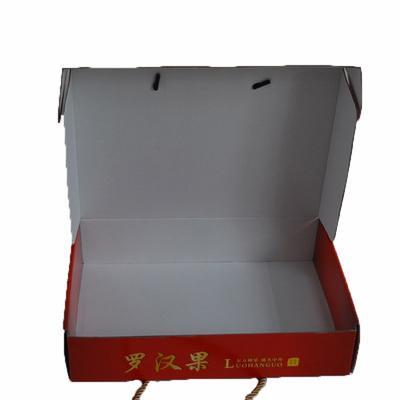 Environmentally Friendly fruits food packing paper box