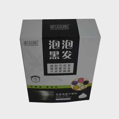 Stamping artistic paper box packaging with poker style